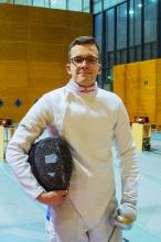Deutscher Junioren-Vizemeister – mit Cochlea-Implantat (CI): Jonas Enzmann (18) errang mit seinem Team die Silbermedaille (Foto: Schaarschmidt)