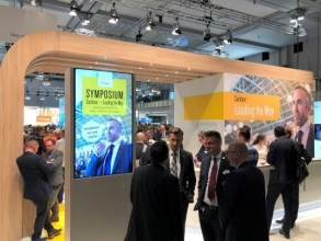 Messestand von Cochlear (Foto: Cochlear)