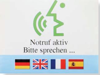 Aufzugnotruf für Menschen mit Hörbehinderung