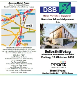 Selbsthilfetage in Essen
