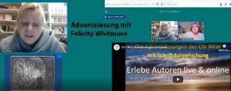 Adventslesung Felicity Whitmore
