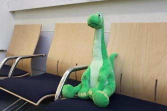 Dino wartet