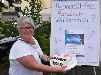 Einer vielen leckeren Teilnehmer-Beiträge zum reichhaltigen Buffet war diese wunderbare CI-Torte
