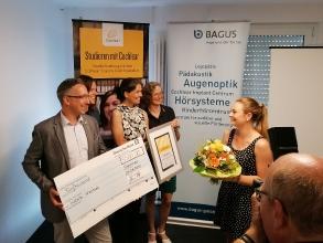 Isabelle Wientzek erhält das Cochlear Graeme Clark Stipendium 2019 _19