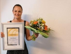 Isabelle Wientzek erhält das Cochlear Graeme Clark Stipendium 2019 _21